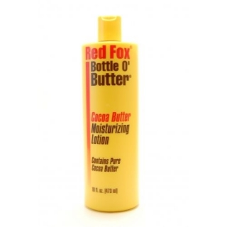 Red Fox Bottle O Butter Cocoa Butter Moisturizing Lotion