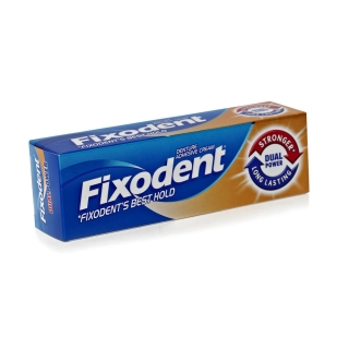 Fixodent Dual Power Denture Adhesive Cream - 35ml