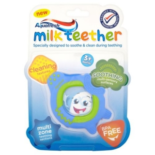 Aquafresh Milk Teeth Teether Ring
