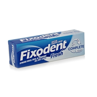 Fixodent Denture Adhesive Cream Fresh - 40ml