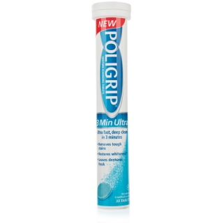 Poligrip Total Care 3 Minute Ultra Tablets x 33