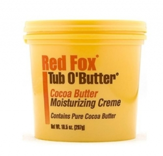 Red Fox Tub O Butter Cocoa Butter Moisturizing Creme
