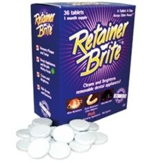Retainer Brite x 36 Tablets - Bulk Discounts
